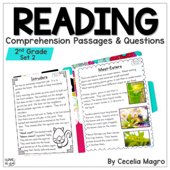 I am Reading, Too! Fiction and Non Fiction Texts - Second Grade