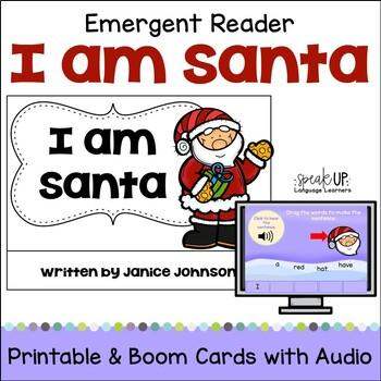 I am Santa Christmas Reader & Vocabulary Work {Young Reade