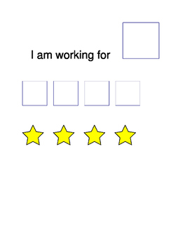 I am Working For Card Autism Special Education