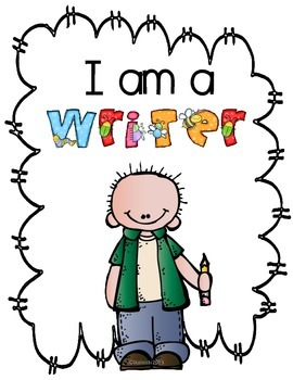 I am a Writer- Book of Rules and Procedures for Kindergarten