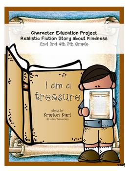 ELA Character Education Project - Original Realistic Ficti