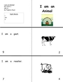 I am an animal: Reproducible Guided Reading Book Level A