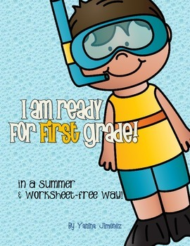 I am ready for 2nd grade in a summer and work-free way!