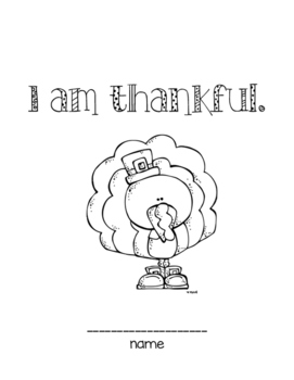 I am thankful journal