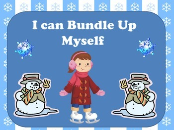 I can Bundle Up Myself flip chart or book
