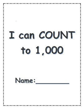 I can count to 1,000