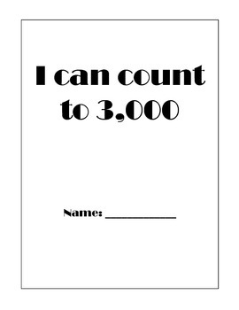 I can count to 3,000