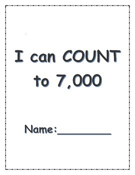 I can count to 7,000