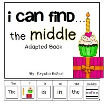 PREPOSITIONS the Middle... Adapted Book Special Education