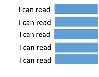 """""""I can read..."""""""
