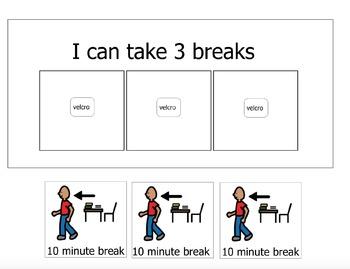 I can take 3 breaks