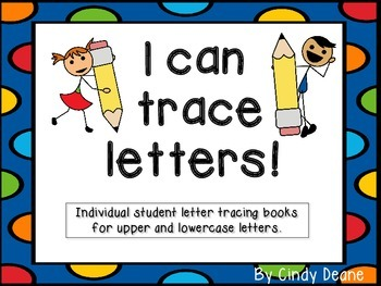 I can trace letters!