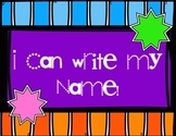I Can Write My Name!