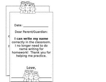 I can write my name correctly