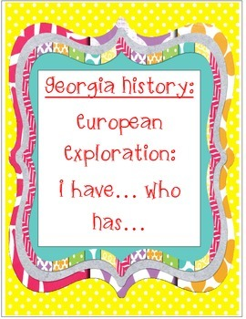 I have... Who Has... European Exploration