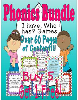 I have, Who Has Game? Phonics Bundle