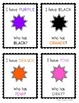 PRESCHOOL CARD GAME - shapes, letters, numbers, colors