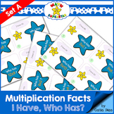 I have-Who has? Multiplication Facts Game SET A