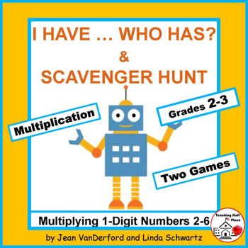I have...Who has? |Multiplication of 2-6 | GAMES |Review |