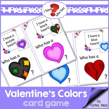I have-Who has? Valentine Colors