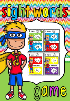 I have ,...... who has game for sight words(50% off for 48 hours)