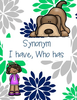 I have who has-synonyms