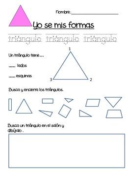 I know my shapes (Spanish)