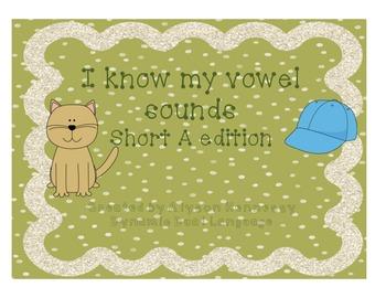 I know my short vowel sounds! Short A Edition FREEBIE!!