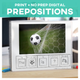 Prepositions: Adapted Book Soccer Edition Special Educatio