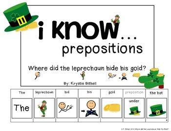 Prepositions: Where Is The Leprechaun Hiding His Gold Adap
