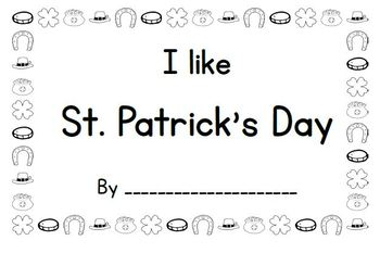 I like St. Patrick's Day Book