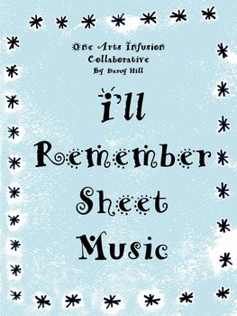 I'll Remember Sheet Music (when someone the students love,