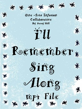 I'll Remember Sing Along mp4 file (when someone the studen