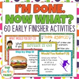 I'm Done. Now What? Early Finisher Task Cards (US and NZ S
