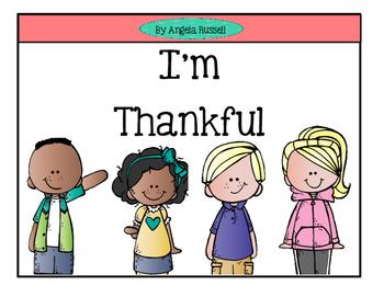 Thanksgiving Freebie ~ I'm Thankful