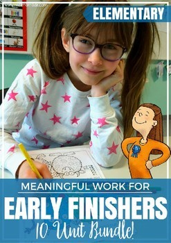 Early Finishers Bundle - work while waiting! by Malimo Mode