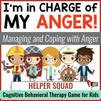 I'm in Charge of My Anger! A Counseling Game (CBT)
