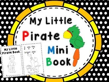 I see a Pirate Mini Book