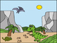 I spy Short Vowel Words -Dinosaur