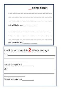 I will accomplish...