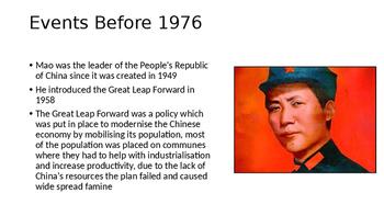 IB A-Level AP Post Mao China - Gang of 4