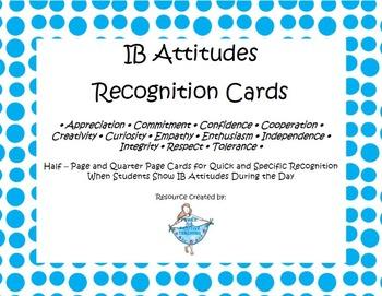 IB Attitudes Reward Cards