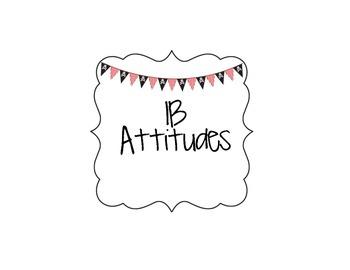 IB Attitudes Signs Pirate Theme