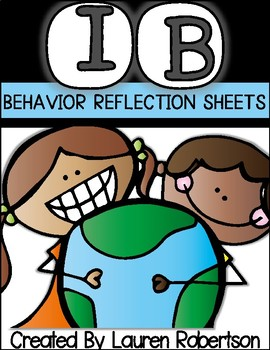 IB Behavior Reflection Sheet