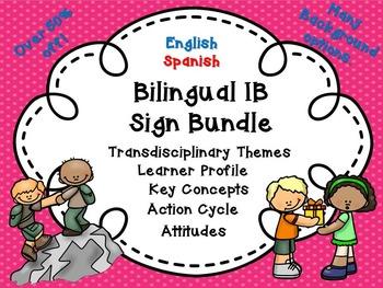 IB Bilingual Bundle!
