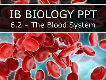 IB Biology (2016) - 6.2 - The Blood System (PPT)
