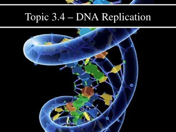 IB Biology (2009) - Topic 3.4 - DNA Replication PPT