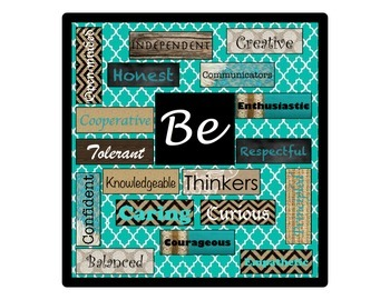 IB:  Bulletin Board Set