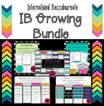 IB Bundle with Attitudes, Learner Profiles & Key Concept P