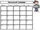IB Classroom Clip Chart Calendar Companion - Updated for 2